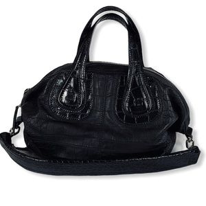 Croc Embossed Givenchy Nightingale